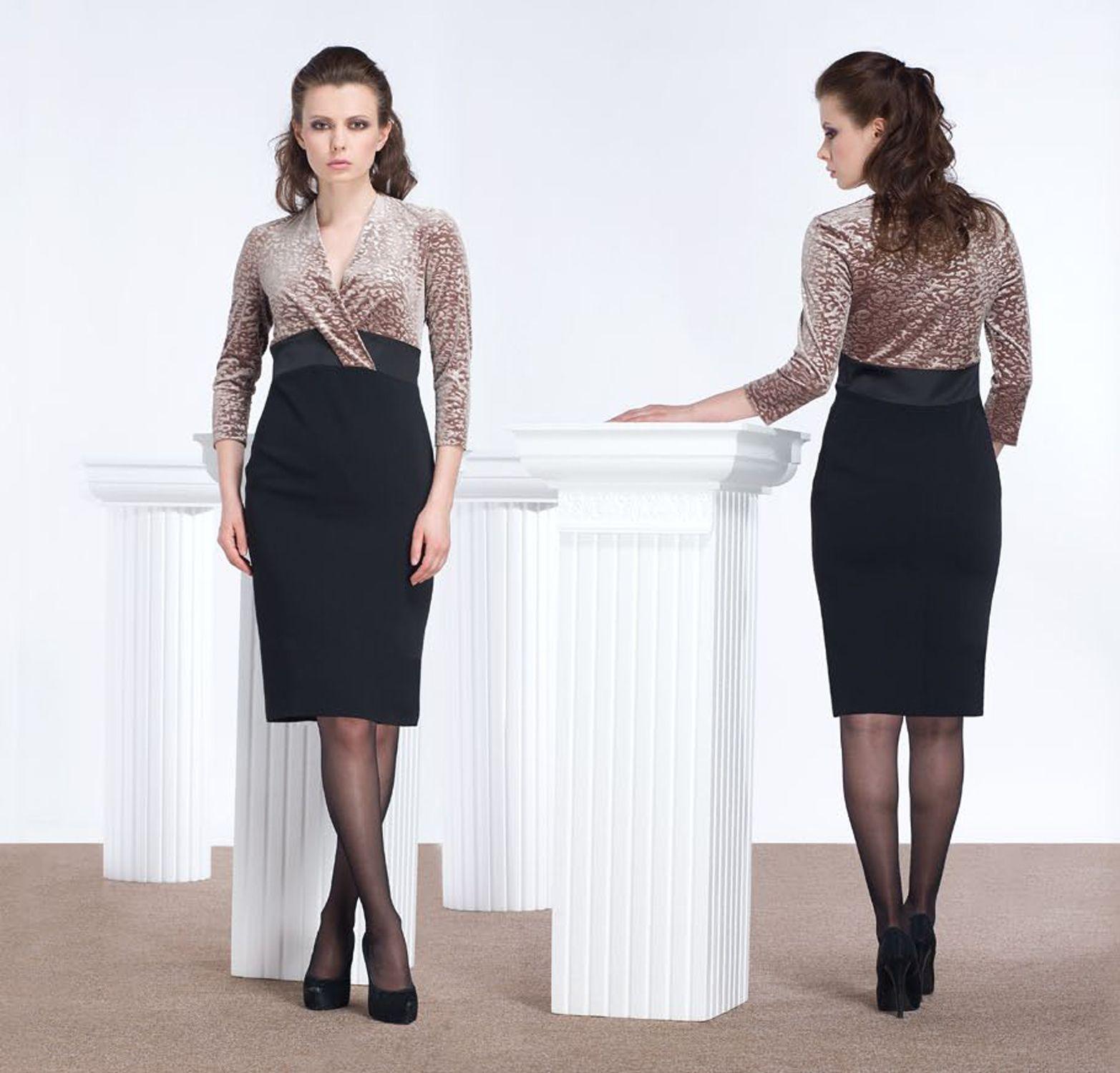 Платья отделанные гипюром